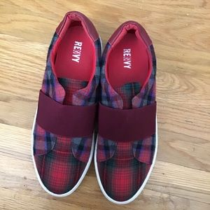 Renvy Shoes - NWT Renvy Plaid sneaker 10